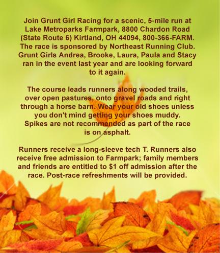 Autumn Leaves Run